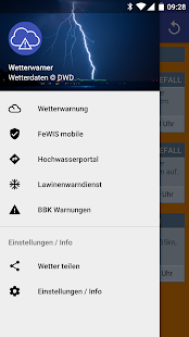 Wetterwarner [Widget]- screenshot thumbnail