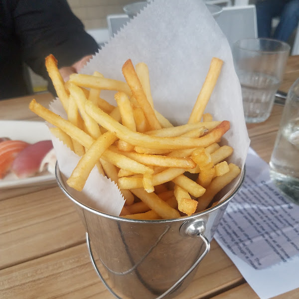 Bucket of fries