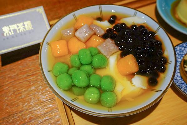 東門茶樓自在院 瑞豐夜市旁古香古色的豆花甜點冰店