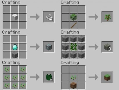 minecraft pc crafting guide pdf