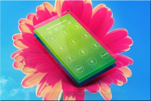 Flower Passcode Lock