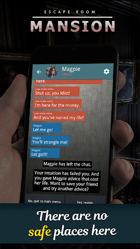 Mansion. Choices Text Adventure  screenshots 4