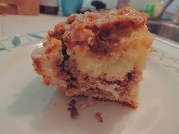 Graham-Streusel Coffee Cake
