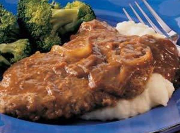Crockpot Cubed Steaks With Gravy Recipe