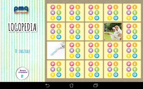 APP Logopedia 1 : esercizi di articolazione Screenshot