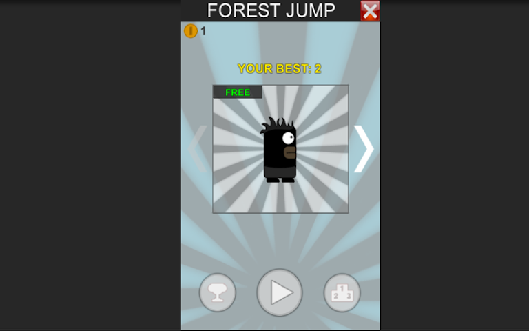 android Forest Jump Screenshot 5