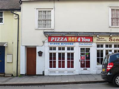 Pizza Hot 4 You On East Hill Pizza Takeaway In Colchester