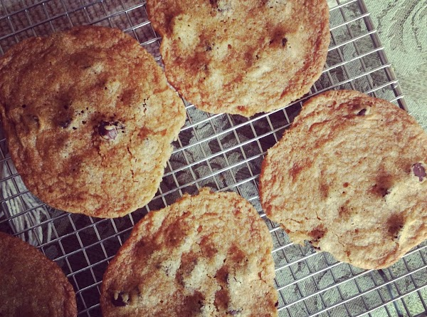 Thin Crisp Chocolate Chip Cookies Recipe
