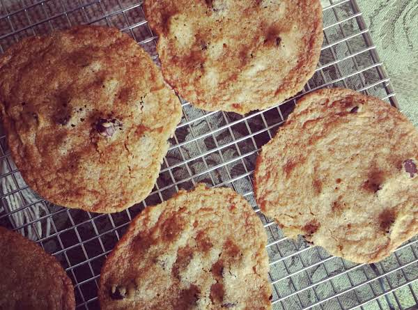 Thin Crisp Chocolate Chip Cookies