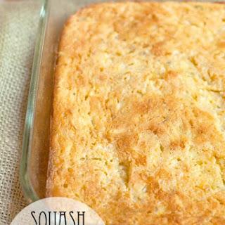 Squash and Cornbread Casserole Recipe