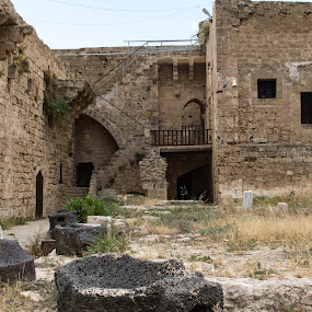 Remains by Meeta Thakur - Buildings & Architecture Public & Historical ( historical, cyprus, travel, holiday )