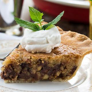 Kentucky Chocolate Walnut Pie