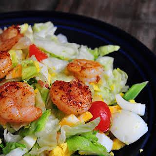 Blackened Shrimp Salad.