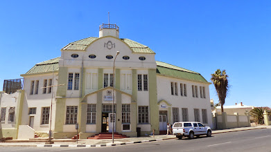Photo: The railway station restored