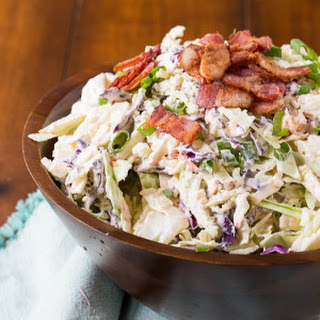 Blue Cheese Bacon Coleslaw.