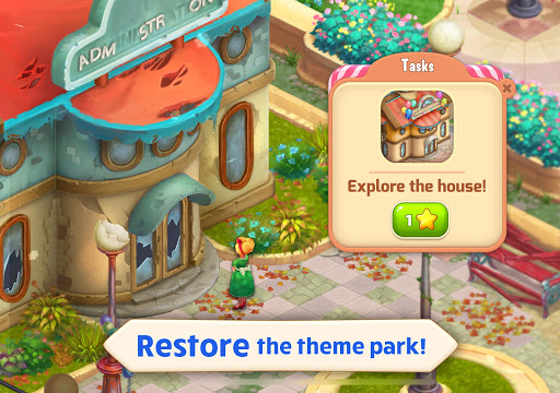 Matchland - Build your Theme Park apktram screenshots 6