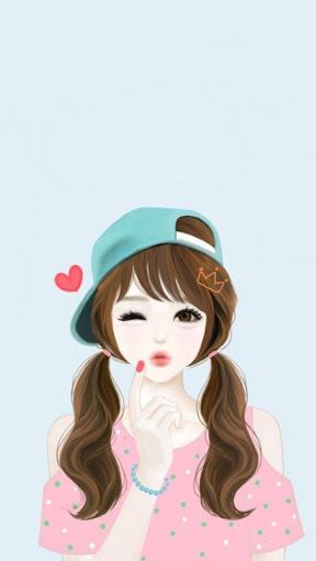 Cute Laura Wallpaper HD 4K screenshot 3