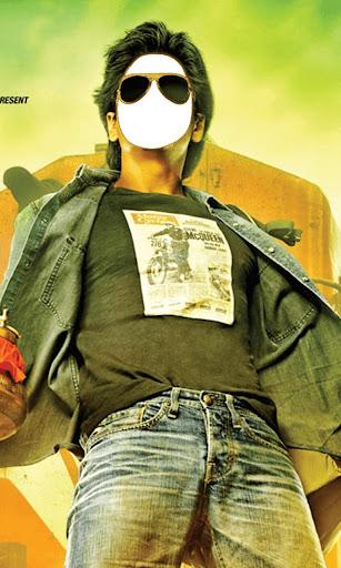 Shahrukh Face Photo Montage