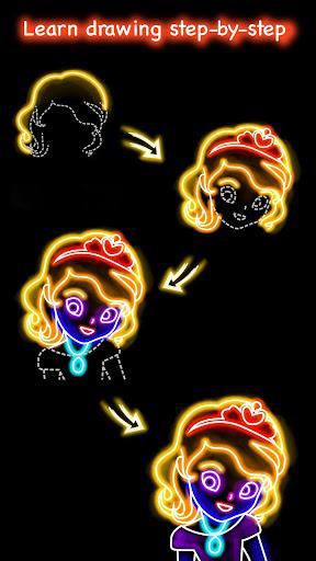 تعلم كيفية رسم لقطات الأميرة 1