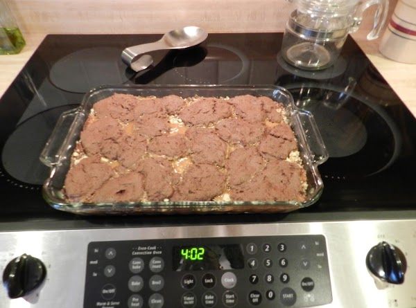 Top with spoonfulls of remaining cake mixture,sprinkle with remaining nuts. Bake 16-18 minutes. Cool,...
