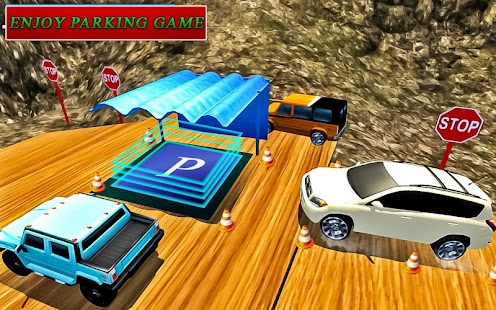 Off-road mountain parking simulator: 4x4 games - náhled