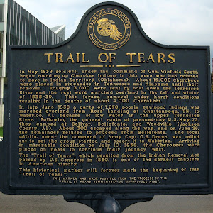 Read the Plaque - Trail of Tears