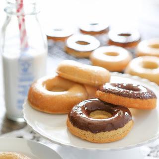 Paleo Donuts with Chocolate Ganache
