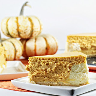 Pumpkin Layered Cheesecake