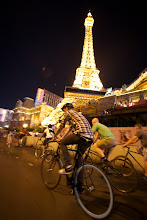 Photo: The Bike Hugger Mobile Social during the Interbike trade show 2010.
