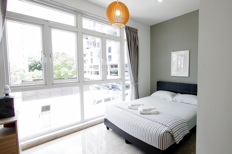 Comfy living area at East Balestier Apartments