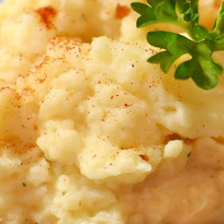 Slow Cooker Mashed Potatoes and Cauliflower