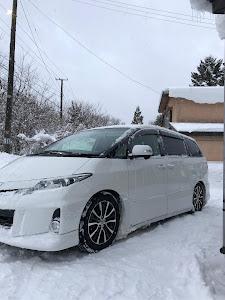 エスティマ ACR55W アエラス 平成24年式 3型後期 4WD 寒冷地仕様のカスタム事例画像 ぐで吉さんの2018年12月15日19:37の投稿