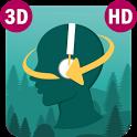 Sleep Orbit: Relaxing 3D Sounds, White Noise & Fan icon