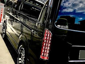 ハイエースバン TRH200V のカスタム事例画像 ドラッキーさんの2020年08月10日18:59の投稿