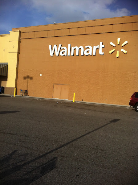 Photo: arrived at Walmart!