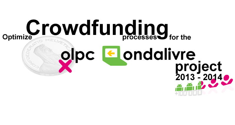 Photo: Crowdfunding Prozessoptimierung, 2013-2014