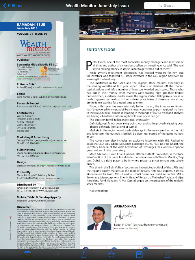 Wealth Monitor- screenshot