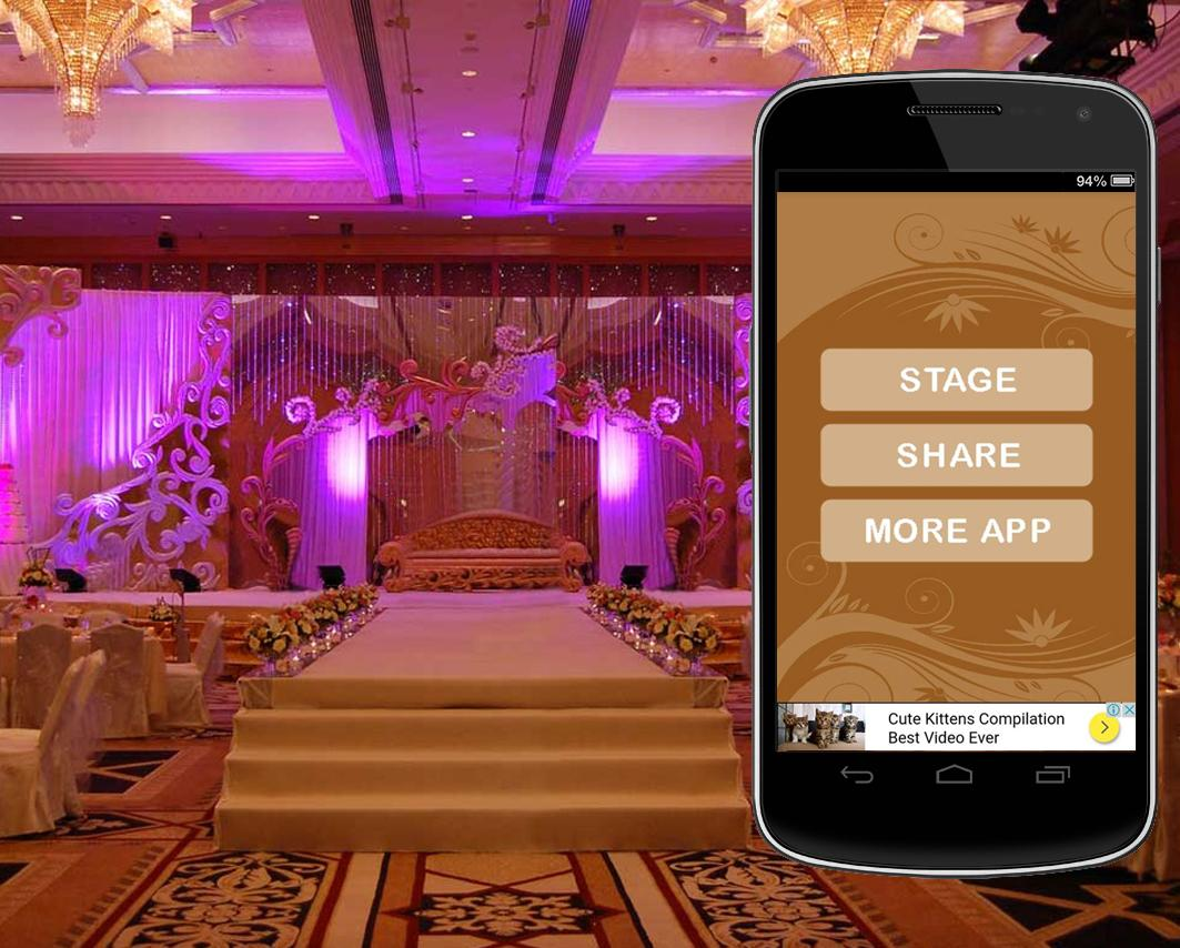 Wedding stage decoration android apps on google play wedding stage decoration screenshot junglespirit Images