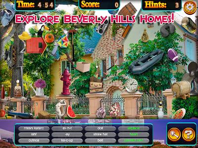 Hidden Objects - Beverly Hills screenshot 8