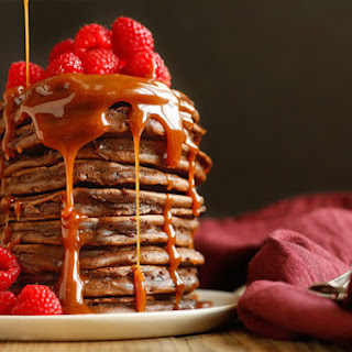 Bobby Flay's Double-Chocolate Pancakes