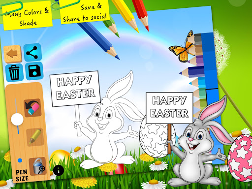 Easter bunny egg coloring book 1.06 screenshots 14