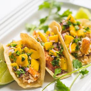 Baked Fish Tacos with Mango Salsa Recipe