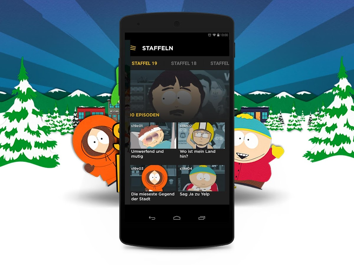 south park android apps auf google play. Black Bedroom Furniture Sets. Home Design Ideas