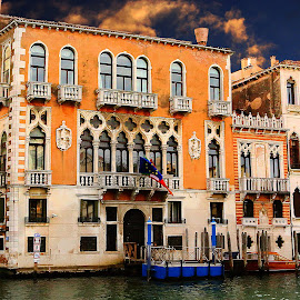 Palazzio di Venezia by Gérard CHATENET - City,  Street & Park  Historic Districts