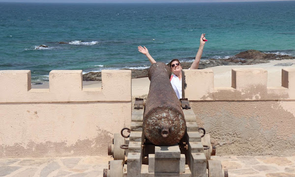 Canon in Oman with my Mom and I traveling together | Krys Kolumbus Travel