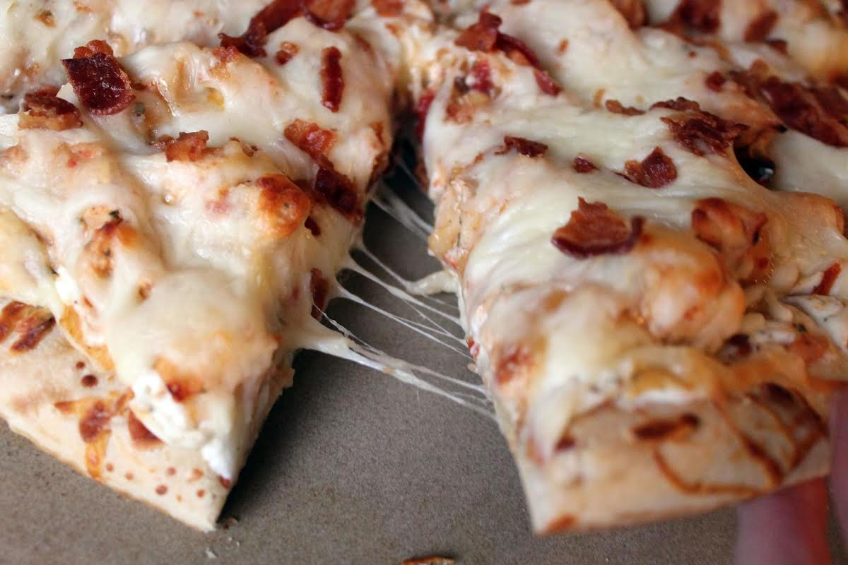 Chicken Bacon Ranch Pizza Just A Pinch Recipes
