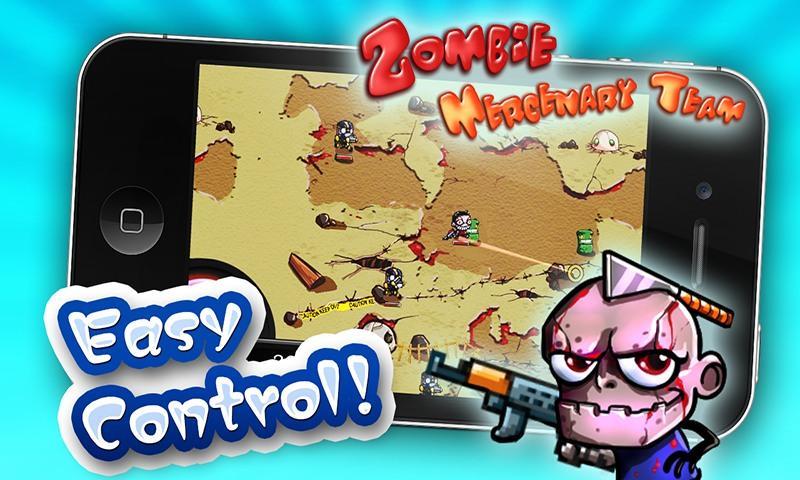 Скриншот Zombie Mercenary Team
