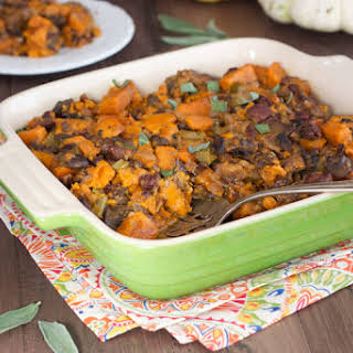 Paleo Slow Cooker Stuffing.