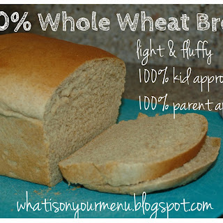 Light and Fluffy Whole Wheat Bread