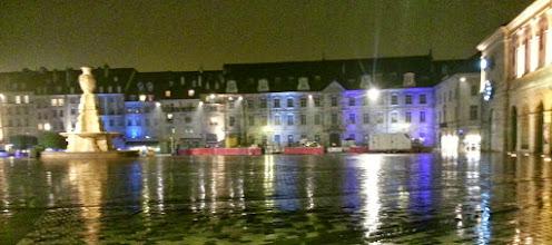 Photo: Besançon, sous une très forte pluie